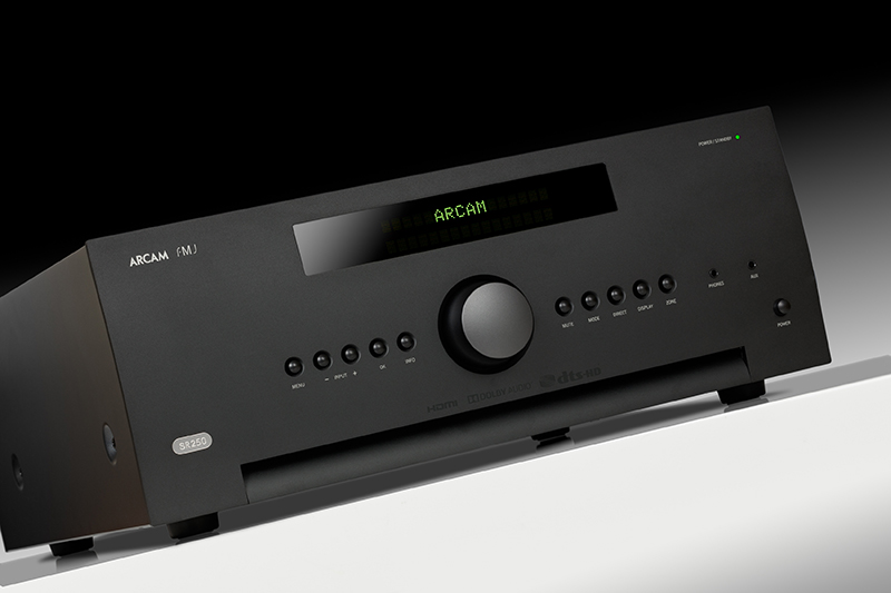 Arcam of Cambridge: PREVIEW: SR250 unique stereo AV receiver. The power and performance of a Class G Hi-Fi amplifier. The connectivity of a word-class AV amp. Literally the best of both worlds.
